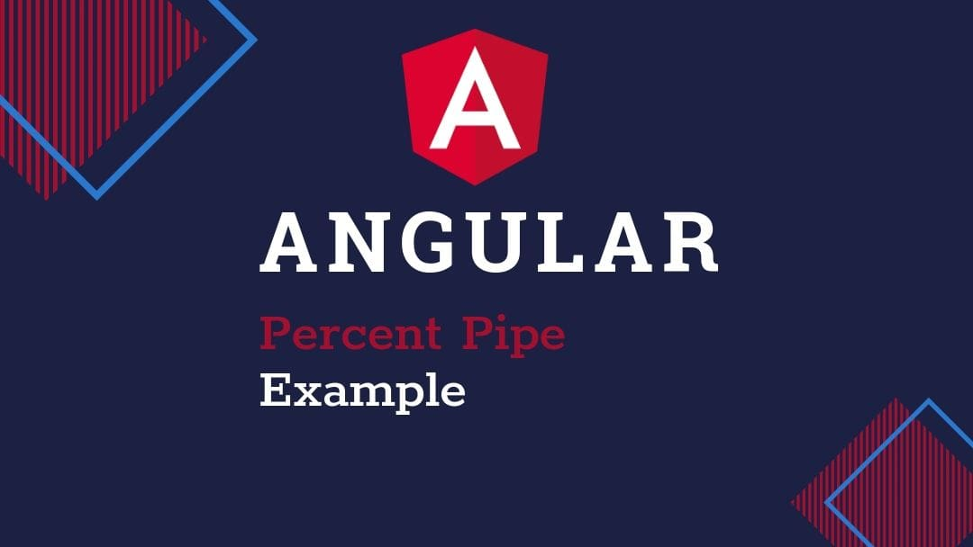 Angular Percent Pipe